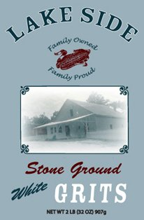 Lakeside Stone Ground Grits 2 lb by Lakeside Mills