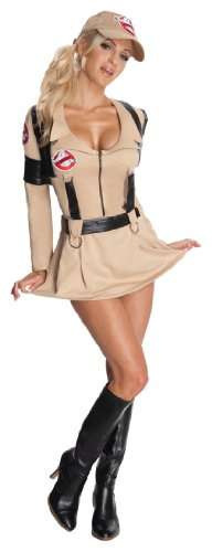 Rubie's Ghostbusters Secret Wishes Sexy Costume,Tan,Medium