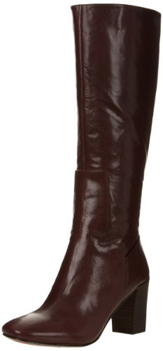 Knee High Brown Leather Boots