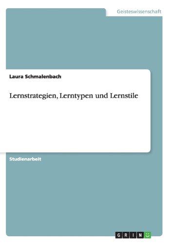Lernstrategien, Lerntypen und Lernstile, Buch