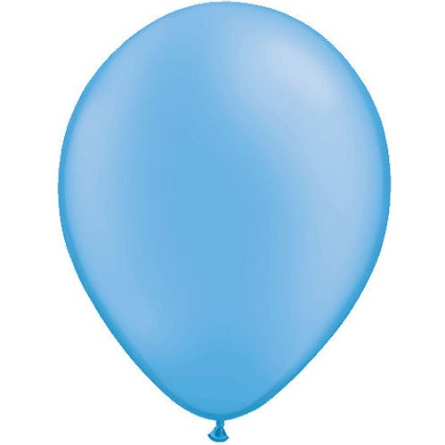 "Qualatex 11"" Neon Blue Latex Balloons (10 ct)"