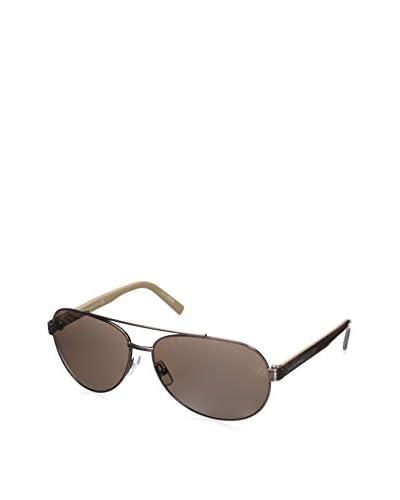 Ermenegildo Zegna Men's EZ0004 Sunglasses, Bronze/Other/Roviex