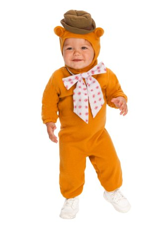 The Muppets Romper Costume, Fozzie Bear, Toddler Size front-721350
