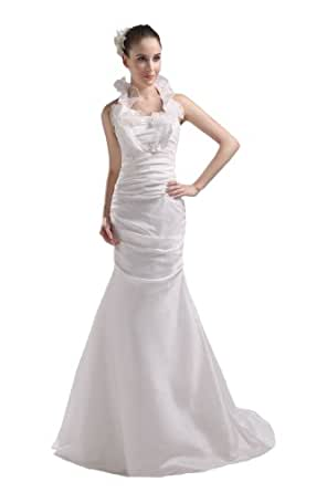 ruched satin taffeta bridal gown wedding dress 26w