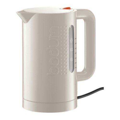 bodum BISTRO Elektrischer Wasserkocher, 1.0 l cremefarben