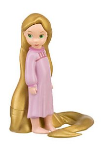 "Disney Store 2 1/2"" Baby Rapunzel Action Figure PVC Figurine Cake Topper - 1"