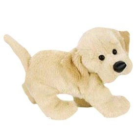 Webkinz Yellow Lab New with Sealed Tags and Unused Code - Retired