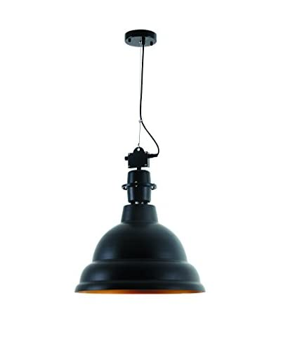 Urban Lights Industrial 1-Light Pendant Lamp, Black