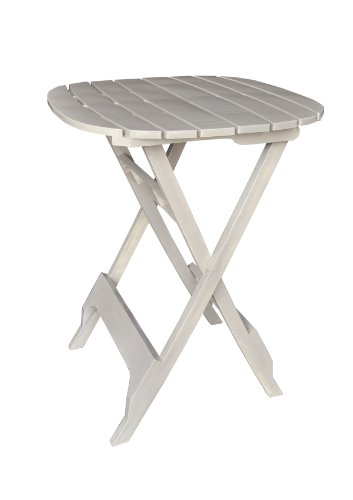 Adams Manufacturing 8560-23-3701 Quik-Fold® Bistro Table, 40-Inch, Desert Clay front-347448