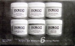 Golden Introductory Gel Mediums and Modeling Pastes Set (0000945-0)