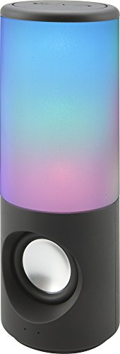 iLive iSB335B Portable Bluetooth Speaker with Color Changing Lights