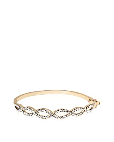 Barzel Lace Swarovski Elements Bangle Bracelet