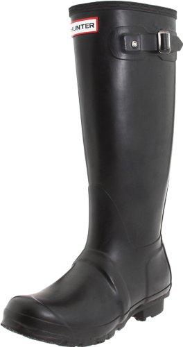 Hunter Women's Original Tall Boot in Black Size 6