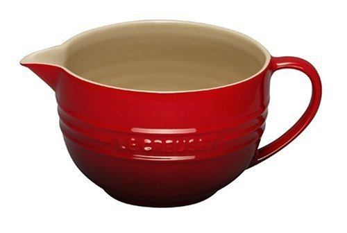 2-qt Le Creuset Mixing Bowl in Cherry - Valentine's Day Gift Guide for the Cook www.pinchofnutmeg.com