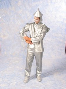 Wizard Of Oz - Oil Can Tin Man Adult Plus-Size Halloween Costume