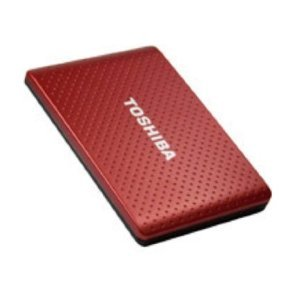 TOSHIBA 1TB Automatic Backup Portable Hard Drive USB 3.0&2.0 Burgundy