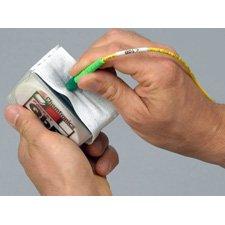 Chemtronics PQBE Pocket QbE Fiber Optic Cleaning Platform - 200 Pack-by-Chemtronics