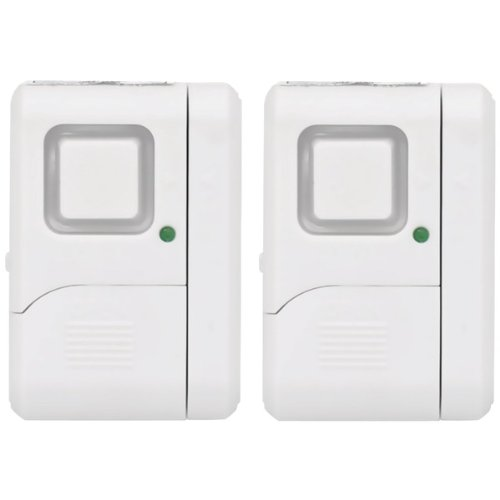 Ge 06864 Spec Magnetic Window Alarms, 2 Pk