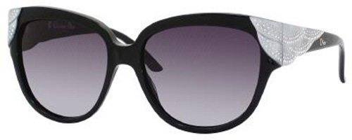 Christian Dior  Dior v4r hd Black Grandball Cats Eyes Sunglasses