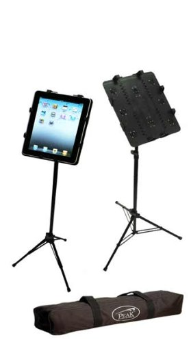 Peak Music Stands SPC-22 Tripod iPad Stand (Peak Music Stand For Ipad compare prices)