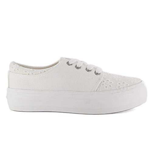 Coolway  Dea,  Sneaker donna Bianco Blanc (Wht/White) 41