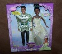 Disney Princess Tiana and Naveen Wedding Set
