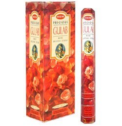 Hem Precious Incense Sticks, Rose, 120 Count