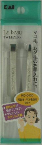 LB 毛抜き・マユ毛抜きセット KDー0430