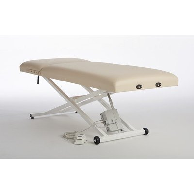 Lift Back Elegance Pro Electric Lift Table With Face Rest Base And Pillow Color: Haze Grey