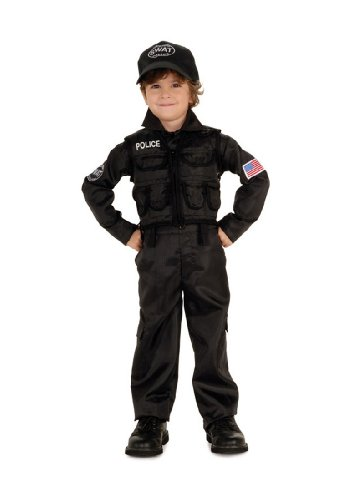 Child Swat Police Costume