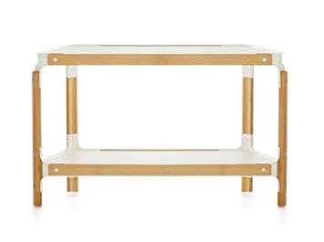 Magis Steelwood Shelving System - 1 Module 2 Rayons Hêtre naturel/Blanc