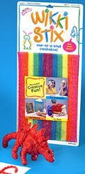 Hours And Hours Of Fun Activities For Tons And Tons Of Fun - Wikki Stix Primary Colors