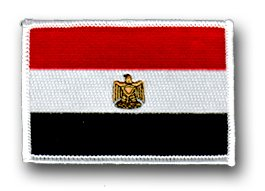 Flag of Egypt Shoulder Patch