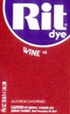 Rit Dye 32 g Wine Powder (6-Pack)