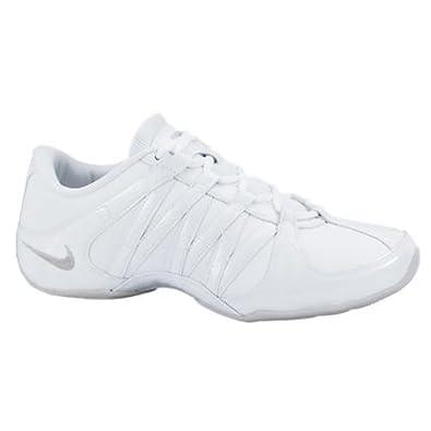Nike Women's Cheer Flash Fitness Shoe Gray/White (6.5)