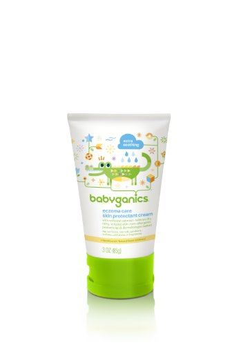Babyganics Eczema Care Skin Protectant Cream, 3 oz (2- Count), Packaging May Vary - 1