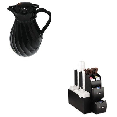 KITEMSCAD01BLKHOR402264B - Value Kit - Hormel Poly Lined Carafe (HOR402264B) and Ems Mind Reader Llc Coffee Organizer (EMSCAD01BLK)