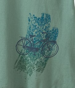 Fleur de Bike Women's Bicycle Organic T-shirt