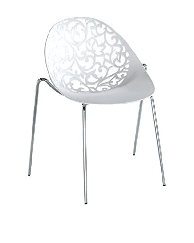 Contemporary Living Special Chairs & Co. Set Silla 4 Uds. Blanco