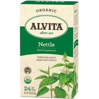 Alvita - Organic Nettle Tea Caffeine Free - 24 Tea Bags, 6 Pack