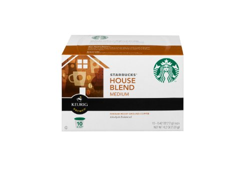 Starbucks House Blend K Cups 10 Pack