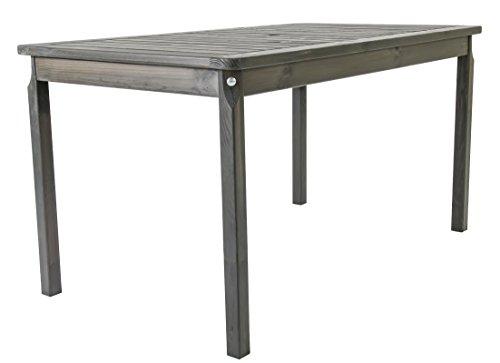 Ambientehome-Gartentisch-Tisch-Massivholz-Esstisch-EVJE-Taupegrau-ca-135-x-70-cm