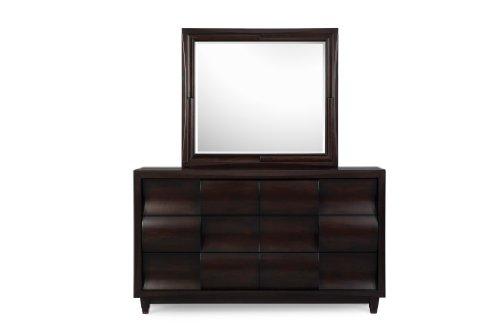 Magnussen Home Fuqua B1794-29 Six Drawer Dresser With Landscape Mirror