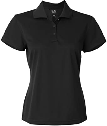 Adidas Golf A131 Ladies ClimaLite Pique S-Sleeve Polo by adidas