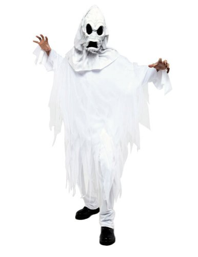 The Ghost Mens One Size Halloween Costume - Most Adults
