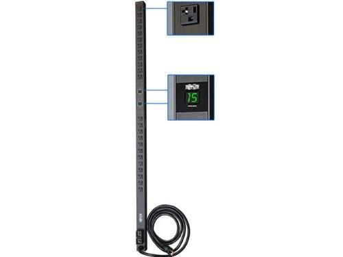 Tripp Lite PDUMV30 PDU Metered 120V 30A 5-15/20R 24 Outlet L5-30P Vertical 0URM