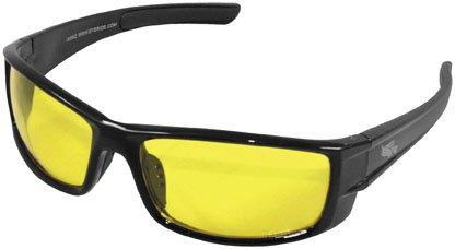 Eye Ride Sunglasses Convoy Sunglasses , Primary Color: Black, Distinct Name: Black/Yellow Lens, Gender: Mens/Unisex, Size: OSFM 90062 tt tf ths 02b hybrid style black ver convoy asia exclusive