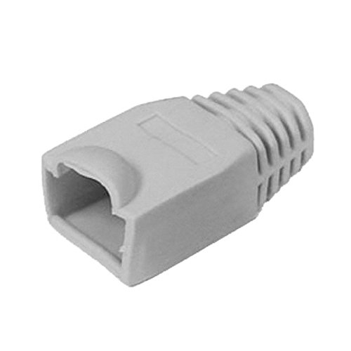 ichooser-rj45-cat5e-lan-network-cable-strain-relief-boot-cover-plug-jack-grey-pack-of-100