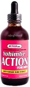 Action Labs Yohimbe action pour Hommes 4 oz