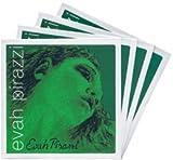 EVAH PIRAZZI エヴァ ピラッツィ ヴァイオリン弦セット(E線:ゴールドスチール ループエンド0.26)